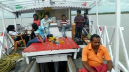 Soil sample collection 2012@Sundarban