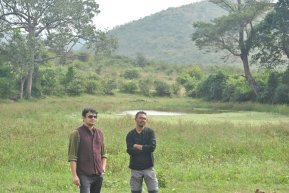 With Arun in Bandipur 2015