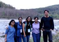 Ecology girls@Jim Corbett National Park 2015