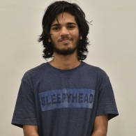 Manasven, Undergraduate Intern: I'm a biology undergrad interested in palaeontology, evolution and prehistory