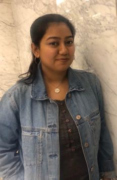Basabi Bagchi, PhD student (Jan 2018-present; Email: basabi.bagchi_phd17@ashoka.edu.in): I possess degrees in microbiology and biochemistry but the area of biology that interests me the most is evolution. During my masters I received an opportunity to study experimental evolution hands-on, sealing my decision to choose evolutionary biology for my doctoral studies. I would like to answer fundamental questions about evolution in relation to insect immunity, using both biochemical and molecular tools. Apart from academics, I am an ardent bird watcher. I love travelling to different wildlife sanctuaries and forests and try to capture their beauty through my camera. Last but not the least, I am a foodie with a major sweet tooth!