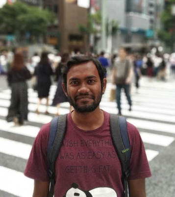 Biswajit Shit, Project Assistant (June 2019, Email biswajit.shit@ashoka.edu.in, Aging of Immune Response